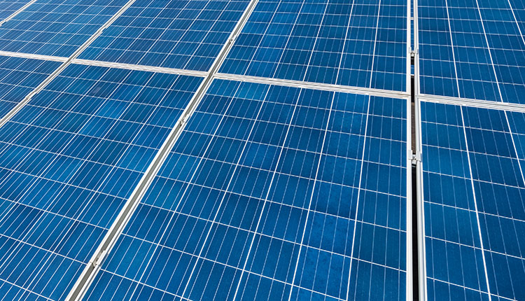 Painel solar policristalino